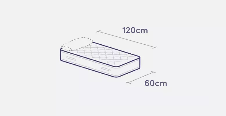 Cot mattress measurements