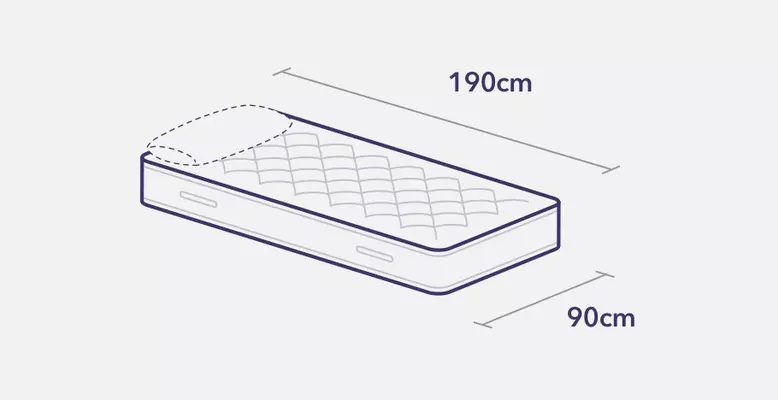 Single bed and mattress measurements