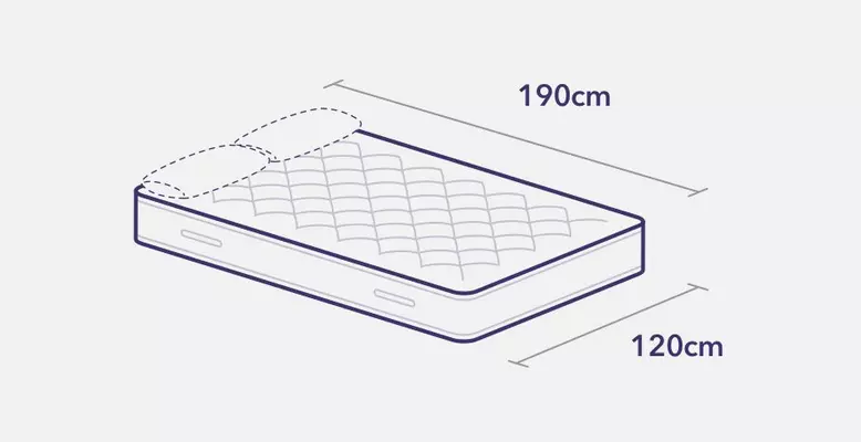 Small double bed and mattress measurements